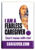 Fearless Caregiver Button